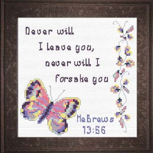 QS Never Will I Leave You | Crafting | Cross-Stitch | Other