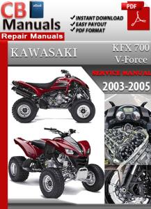 Kawasaki KFX 700 V-Force 2003-2005 Service Repair Manual | eBooks | Automotive