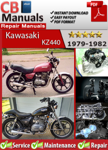 kawasaki kz440 1979-1982 service repair manual