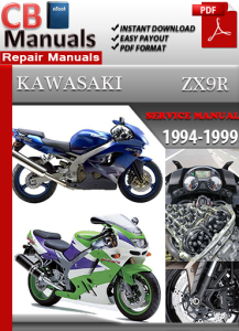 Kawasaki ZX9R 1994-1999 Service Repair Manual | eBooks | Automotive