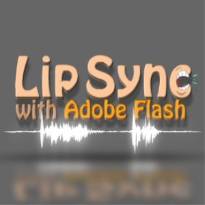 lip syncing with flash