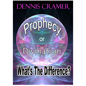 prophecy or divination. whats the difference