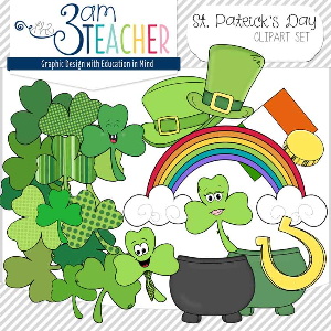 st. patrick's day graphics collection