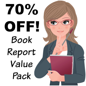 70% Off Value Pack: 27 Book Report Projects/14 Free Gifts | Documents and Forms | Templates