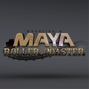 modeling a maya roller coaster