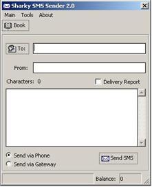 Sharky SMS Sender | Software | Mobile
