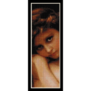 cupidon bookmark - bouguereau cross stitch pattern by cross stitch collectibles