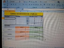 torneo round-robin 4 parejas (nuevo)