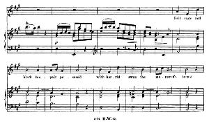 Fell rage and black despair posess'd. Soprano Aria (Michal). G.F.Haendel: Saul, HWV 53.Vocal Score (G.Gervinus), Ed. Peters  (1925) | eBooks | Sheet Music
