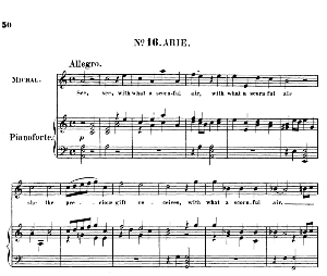 See, see, with what a scornful air. Aria for Soprano (Michal). (G.F.Haendel: Saul, HWV 53.Vocal Score (G.Gervinus), Ed. Peters  (1925) | eBooks | Sheet Music
