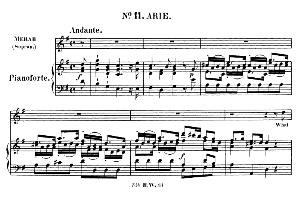What abject thoughts a prince can have!. Aria for Soprano (Merab). (G.F.Haendel: Saul, HWV 53.Vocal Score (G.Gervinus), Ed. Peters  (1925) | eBooks | Sheet Music