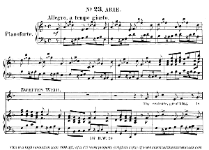 Thy sentence, great King, is prudent and wise. Aria for Soprano (Second woman). G.F.Haendel: Solomon, HWV 67. Vocal Score (G.Gervinus), Ed. Peters, PD   eBooks   Sheet Music
