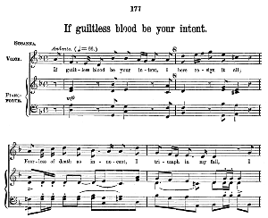 If guiltless blood be your intent. Aria for Soprano. G.F.Haendel: Susanna, HWV 66. Vocal Score (W.T.Best), Ed. Boosey & co  (1870). PD. | eBooks | Sheet Music