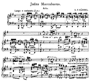 Pious orgies, pious airs. Aria for Soprano. G.F.Haendel: Judas Maccabaeus, HWV 63, Vocal Score. Schirmer Anthology of Sacred Song (M. Spicker). Ed. Schirmer (PD) | eBooks | Sheet Music