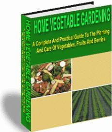 Home Vegetable Gardening | eBooks | Home and Garden