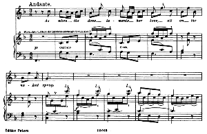 Oh! Didst thou know...As when the dove laments her love. Recitative and Aria for Soprano (Galatea). G.F.Haendel: Acis and Galatea, HWV 49, Vocal Score. Gesange für eine Frauenstimme (H. Roth), Ed. Peters, 1915 | eBooks | Sheet Music