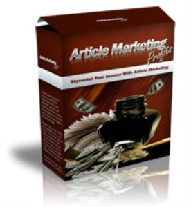 article marketing profits