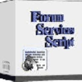Forum Services Script | Software | Developer