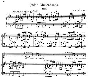 Father of Heav'n! From thy eternal throne. Aria for Alto/Countertenor (Priest). G.F.Haendel: Judas Maccabaeus, HWV 63. Vocal Score. Schirmer Anthology of Sacred Song: Alto. (M. Spicker). Ed. Schirmer | eBooks | Sheet Music
