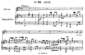 Impious wretch, of race accurst. Aria for Alto, Countertenor (David). (G.F.Haendel: Saul, HWV 53.Vocal Score (G.Gervinus), Ed. Peters (1925) | eBooks | Sheet Music