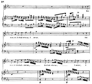 Ah! dearest friend, undone by too much virtue...But sooner Jordan's stream. Recitative and Aria for Tenor (Jonathan). (G.F.Haendel: Saul, HWV 53.Vocal Score (G.Gervinus), Ed. Peters  (1925)   eBooks   Sheet Music