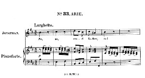 No, no, cruel father, no! Aria for Tenor (Jonathan). With recitative O filial piety!... G.F.Haendel: Saul, HWV 53.Vocal Score (G.Gervinus), Ed. Peters (1925) | eBooks | Sheet Music