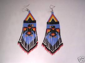 Brick Stitch Raven/Crow Delica Seed Beading Earring Pattern | Other Files | Arts and Crafts