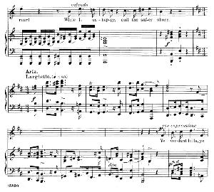 Tyrannic love!...Ye verdant hills, ye balmy vales. Recitative and Aria for Tenor (First elder). G.F.Haendel: Susanna, HWV 66.  Vocal Score. Schirmer Anthology of Sacred Song: Tenor. (M. Spicker). Ed. Schirmer   eBooks   Sheet Music