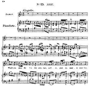 Would you gain the tender creature. Aria for Tenor/Soprano (Damon). G.F.Haendel: Acis and Galatea, HWV 49. Vocal Score (G.Gervinus), Ed. Peters   eBooks   Sheet Music