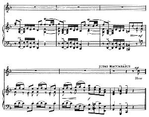 Thanks to my brethen!…How vain is man! Recitative and Aria for Tenor (Judas). G.F.Haendel: Judas Maccabaeus, HWV 63. Vocal Score, Ed. Schirmer (F. Van der Stucken). 1908 | eBooks | Sheet Music