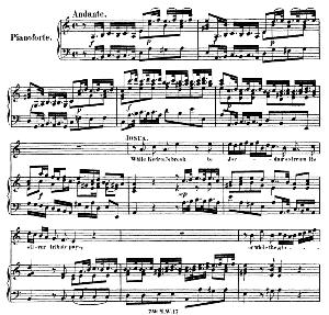 So long the memory shall last...While Kedron's brook to Jordan's stream. Recitative and Aria for Tenor (Joshua). G.F.Haendel: Joshua, HWV 64. Vocal Score (G.Gervinus), Ed. Peters | eBooks | Sheet Music