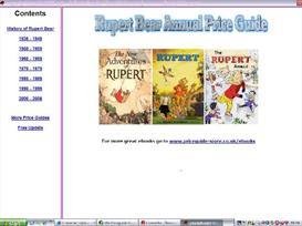 Rupert Bear Annual Price Guide 2009 | eBooks | Entertainment