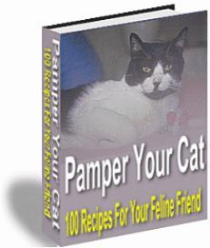 Pamper Your Cat- 100 Recipes For Your Feline Friend | eBooks | Food and Cooking