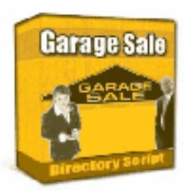 Garage Sale Directory Script | Software | Developer