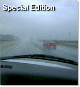 rainy day drive - special edition