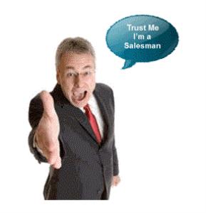 trust me i'm a salesman