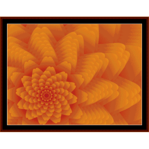 Fractal 431 cross stitch pattern by Cross Stitch Collectibles | Crafting | Cross-Stitch | Wall Hangings