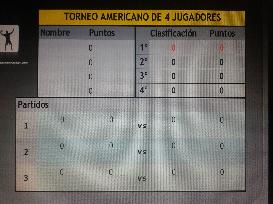 torneo americano 4 jugadores (powerpoint)