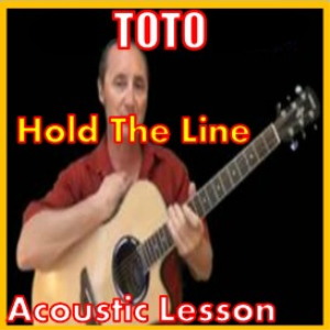 learn to play hold the line by toto