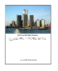 2013 detroit year end sales statistics