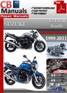 Suzuki Bandit GSF 650 1999-2011 Service Repair Manual | eBooks | Automotive