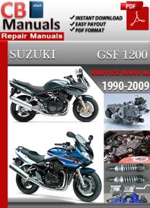 Suzuki Bandit GSF 1200 1990-2009 Service Repair Manual | eBooks | Automotive