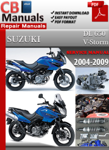 Suzuki DL 650 V-Storm 2004-2009 Service Repair Manual | eBooks | Automotive