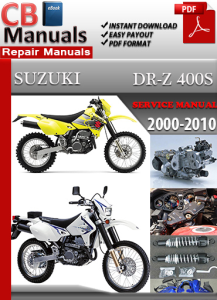 Suzuki DR Z 400 S 2000-2010 Service Repair Manual | eBooks | Automotive