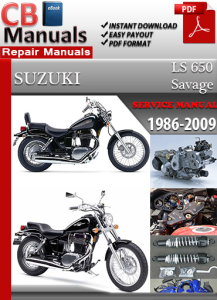 Suzuki LS 650 Savage 1986-2009 Service Repair Manual | eBooks | Automotive