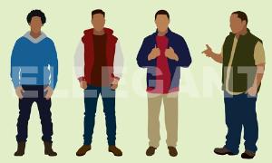 black teens in coats (ten-002)