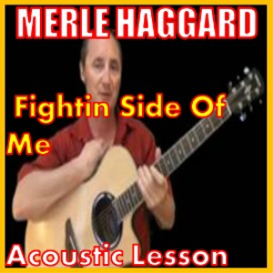 learn to play fightin side of me by merle haggard