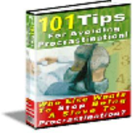 101 Tips For Avoiding Procrastination | eBooks | Internet