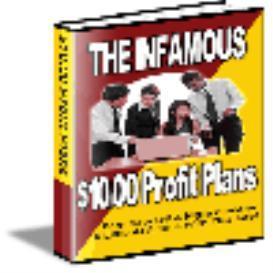 10 Dollar Profit Plans   eBooks   Internet