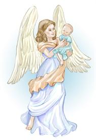 Angel with Baby | Other Files | Clip Art